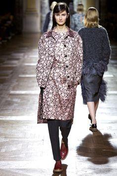 Dries Van Noten Fall 2013 Ready-to-Wear Fashion Show - Mackenzie Drazan