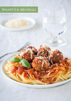 Pork Recipes : Spaghetti and Meatballs Recipe