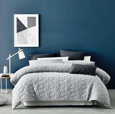 Adairs. GREY bed linen