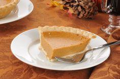 Blue Ribbon Pumpkin Pie Recipe -- Yum!
