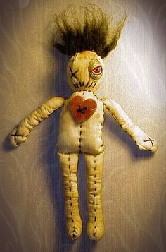 Hoodoo Magick Rootwork:  A Voodoo doll.