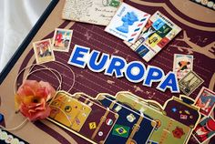 album scrapbooking travel europa