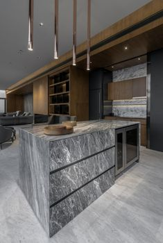 Apartmán FHM Bachelor okouzluje úchvatným výhledem na Bangkok   Insidecor - Design jako životní styl Interior Design Colleges, Best Interior Design, Interior Design Kitchen, Interior Designing, Luxury Kitchens, Cool Kitchens, Cocinas Kitchen, Best Kitchen Designs, Home Decor Online