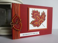 Stampin Up Holiday Catalogue Lighthearted Leaves https://www.facebook.com/pages/Handmade-With-Love-In-NIreland/145237172246665