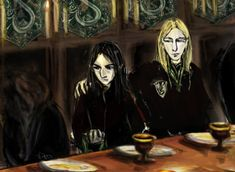 Welcome to Slytherin' from Harry Potter and the Deathly Hallows, chapter 33