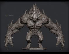 http://www.zbrushcentral.com/showthread.php?169676-Unreal-Engine-3-Game-project-Giant-Monster