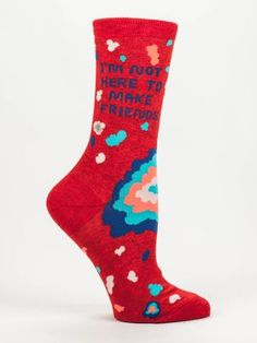 This pair of cute (and insightful) socks just arrived Sweet Potato's Boutique!