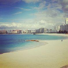 Playa de Riazor, La Coruña