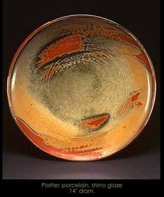 Connie Christensen  |  Porcelain platter.