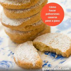 Te proponemos seguir esta receta de polvorones, es muy sencilla y da unos fantásticos resultados. ¡Mmmmmm! http://www.guiainfantil.com/recetas/recetas-de-navidad/polvorones-caseros-para-navidad-recetas-dulces-tradicionales/