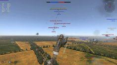#War #Thunder Сталинград M.C.200 #Saetta серия 3 (002)