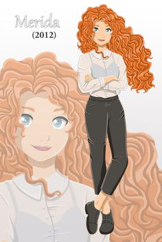 Finished! Merida - Circa 2012 - outfit idea inspired by ~bealor on deviantArt :)