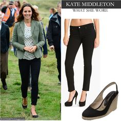 this choice also after George's birth; was a pared down Mum style.  She looked appropriate here for the outing.