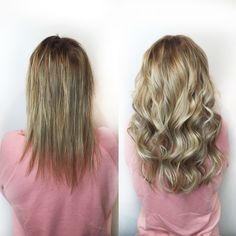 The Least damaging Extensions on the Market – Easy Hairstyles Party Hairstyles, Cool Hairstyles, Hair Extension Brush, Types Of Hair Extensions, Hair Extensions Before And After, Hair Restoration, Good Hair Day, Grow Hair, Fine Hair