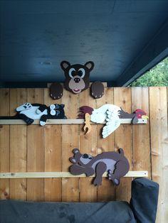 Bear rail pet