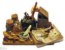 The Alchemist in a Box - Handmade 1:12 scale OOAK