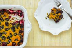 Here is a delicious blackberry cobbler recipe. It's ready to eat in under an hour, filled with healthy berries, and is a cinch to throw together.