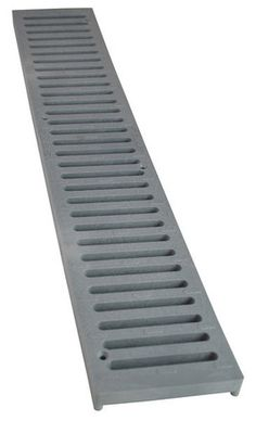 NDS 2-Foot Spee-D Channel Drain Grate, Grey (#241, L241-1*) picture