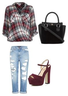 """Still Looking Cute"" by momo-free on Polyvore featuring River Island and Genetic Denim"