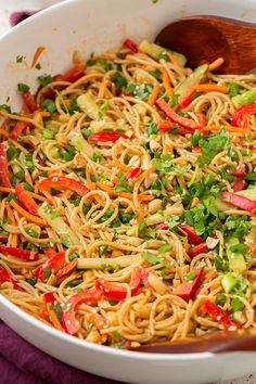 Spicy Thai Peanut Noodles   Cooking Classy