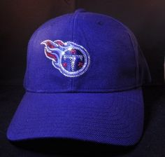 Tennessee Titans Swarovski Rhinestone Bling Hat www.babywantsbling.com