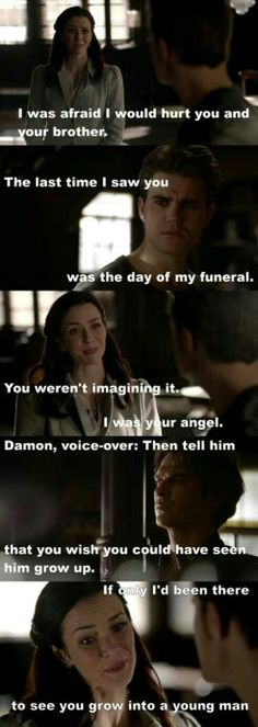 "6x18 ""I Never Could Love Like That"" - Lily, Stefan and Damon - The fact that Damon knew what to say to bring Stefan's humanity back is amazing; Lily may be their mother but it was Damon that always took care of Stefan."