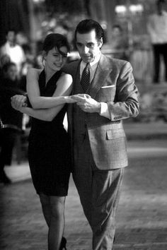 """Al Pacino and Gabrielle Anwar 