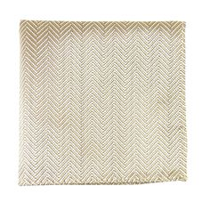 £12 Champagne Pocket Square from 2ACES