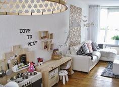 & 'n toefje kleur: Stoere speelplek in de woonkamer