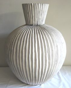 louise gelderblom vase - design indaba click now for more info. Ceramic Clay, Ceramic Vase, Porcelain Ceramic, Pottery Vase, Ceramic Pottery, Thrown Pottery, Slab Pottery, Pottery Wheel, African Pottery