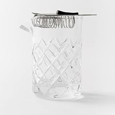 Essential Barware - Mixing Pitcher + Strainer #westelm