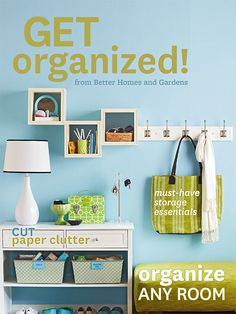 """Free Get Organized Guide- Ready to cut the clutter and get organized for good? Start with our """"Get Organized"""" guide."""