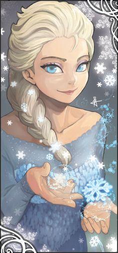 Frozen Elsa | via Tumblr