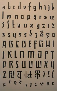 cubist alphabet, typography, museum of czech cubism, house of the black madonna, prague