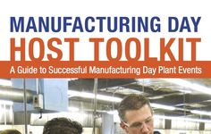 #MFG Day ( #MFGDay) The Manufacturing Day Educator Toolkit (click picture to download) has been designed to help hosts connect with student visitors during their Manufacturing Day events, and to aid educators in fostering conversations about manufacturing careers in the classroom. Parents and students will also find the kit a useful resource for their discussions at home and amongst peers.