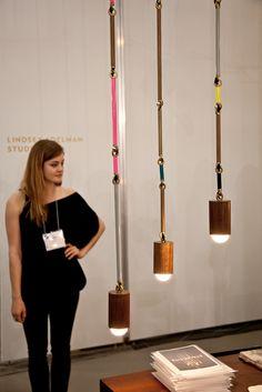 Woodchuck Pendants by Lindsay Adelman.