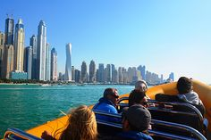 Dubai, Trips in the boats for sightseeing.