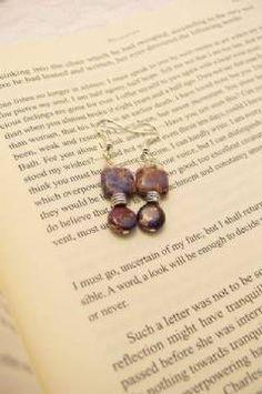"""""""Juliet"""" earrings"""