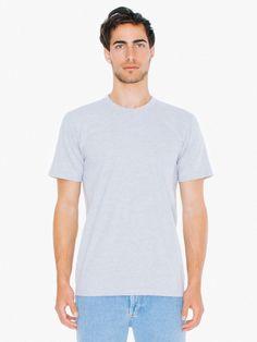 1a223144afd13 American Apparel Fine Jersey T-shirt (100% Ringspun Cotton)