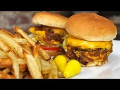 IN & OUT BURGERS - Nicko's Kitchen - YouTube