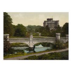 Eglinton Castle, Irvine, Ayrshire, Scotland Poster