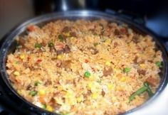 Mexikói rizses hús | NOSALTY Fried Rice, Main Dishes, Vegetables, Ethnic Recipes, Food, Main Courses, Entrees, Veggies, Essen