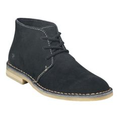 Stacy Adams Sandstorm chukka Boots Mens Black Suede - ONLY $69.95