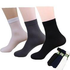 4Pairs Men/'s Casual Bamboo Soft Fiber Socks Middle Tube Sport Socks