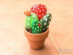 DIY - Resultado de cactus pintado