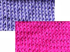 The  Weekly  Stitch: Twisted Stockinette