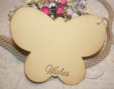 Baby Shower Wish Tree Tags  Yellow Butterflies by ShabbyPeaDesigns, $9.50