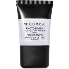 Smashbox Photo Finish Pore Minimizing Primer ($15) ❤ liked on Polyvore featuring beauty products, makeup, face makeup, makeup primer, beauty, cosmetics, faces, filler, no color and smashbox makeup primer