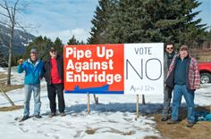 Pipe Up Against Enbridge | British Columbia communities and First Nations stopping the Enbridge Northern Gateway Pipeline