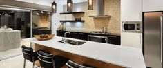 #Kitchen design in The Sunset Cove Display Home by #VenturaHomes